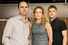 Lucky Generals: Andy Nairn, Helen Calcraft and Danny Brooke-Taylor