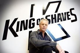 Will King: founder and chief executive of King of Shaves