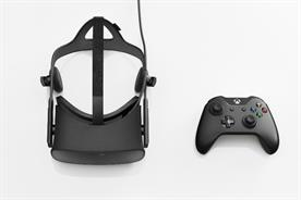 Oculus Rift: the headset will come with an Xbox One controller