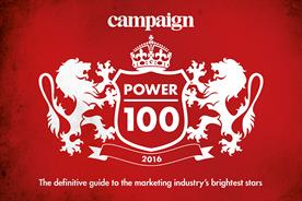 Find out who is in Campaign's Power 100 2016
