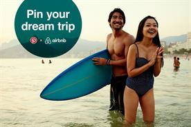 Airbnb's and Pinterest's 'Pin your dream' competition
