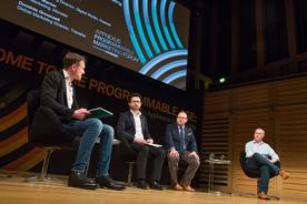 (l-r) Adrian Barrick, Campaign; Nick Graham, Huawei; Andrew Warner, Monster; and Dominic Grounsell, Travelex, were among those who took part in the forum