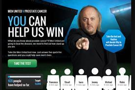 Prostate Cancer UK calls on public to sign up to 'Men United'