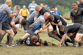 M&C Saatchi's Tom Bazeley on rugger buggers and the joys of unlimited Lucozade Sport