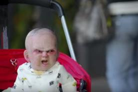 The top 13 most-shared scary ads of 2015 is topped by the scary baby