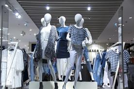 "The BRC said that April had seen ""record declines"" in fashion spending"