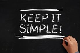 My secret weapon: Keeping it simple