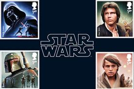 Royal Mail feels the force with Star Wars stamp collection