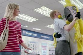 Unshackled.com: the brand's parrot of truth shouts 'bollocks' to mobile rip-offs in launch campaign