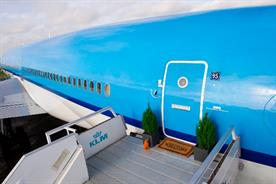 Airbnb and KLM turn jet into 'pimped out' hotel