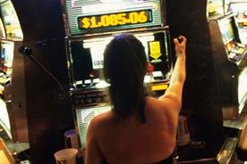 Ms Vera Age: playing the slot machines at the casino