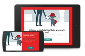 YouTube Kids: mostly featuring ads for other YouTube channels
