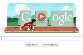 Google: today's homepage