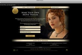 Spotify: promotes Titanic 3D film on its 20th Century Fox advertiser page