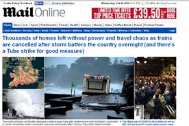 Mail Online: digital ad revenues up by £5 million in the last quarter