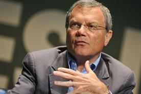 Sir Martin Sorrell, chief executive of WPP, talking at Cannes Lions