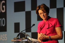 Kate Silverton hosts the AOP Summit 2010