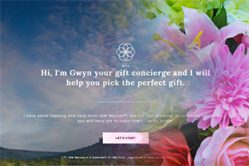 1-800-Flowers.com launches AI 'concierge' powered by IBM's Watson
