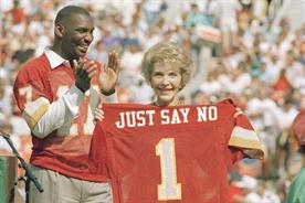 Nancy Reagan's most memorable 'Just Say No' moments
