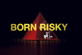 "Channel 4 ""born risky"" by 4Creative"
