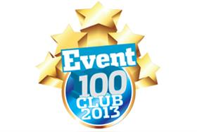 Event 100 Club 2013: the full list