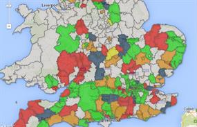 Community Infrastructure Levy maps