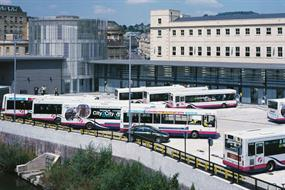 Advice: Providing for buses in city centres