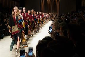 Taking high fashion from the catwalk to the web