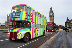 7Up kicks off global campaign with urban knitting ad