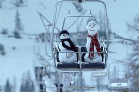 Zurich launches snowmen cinema campaign across Europe