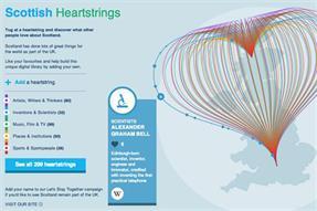 Adam & Eve/DDB launches pro-union Scottish Heartstrings initiative
