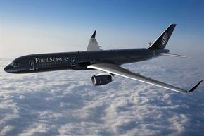 Four Seasons plans hotel industry's first branded jet