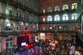 Week in pictures: ICC Birmingham; Mistletoe 2013; C&IT attends launch of Mamounia Lounge; CTI's office opening