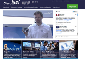 In Numbers: Cisco Live 2015, Milan
