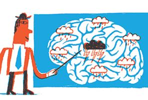 Where does the word 'brainstorming' come from?