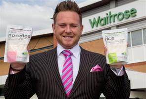Meet the former stripper who has Waitrose going wild for his noodles