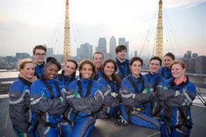 The Eventice: Candidates scale new heights at the O2