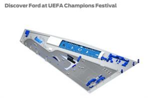 Ford calls on Imagination for Uefa Champions Festival