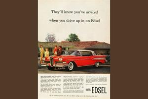 History Of Advertising: No 114: The Ford Edsel