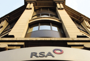RSA shares drop 17% as boss quits