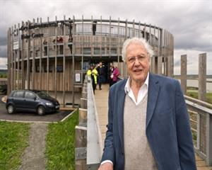 Sir David Attenborough hails former landfill site