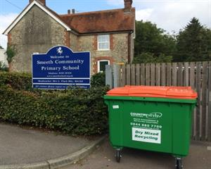 New deal to improve recycling in schools
