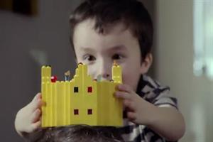 Lego plays on father and son bonding with Christmas film