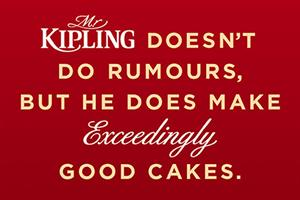 Mr Kipling mocks 'exceedingly good' strapline axe rumours