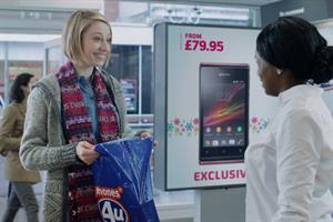 Customers get more than they bargain for in Phones4U Christmas ad