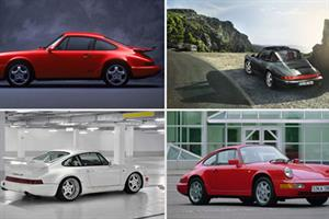 Porsche celebrates 50 years of 911 with the roar of engines