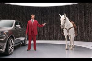 Ron Burgundy's Dodge Durango: 360 times better than a horse