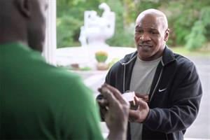 Mike Tyson makes amends for ear-biting in Foot Locker spot
