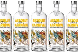 Absolut taps into Brazilian World Cup fever with Karnival vodka