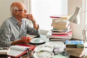 Roger McGough pens short stories for bespoke Birds Eye plates